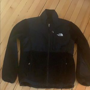 Women's Northface Black fleece jacket